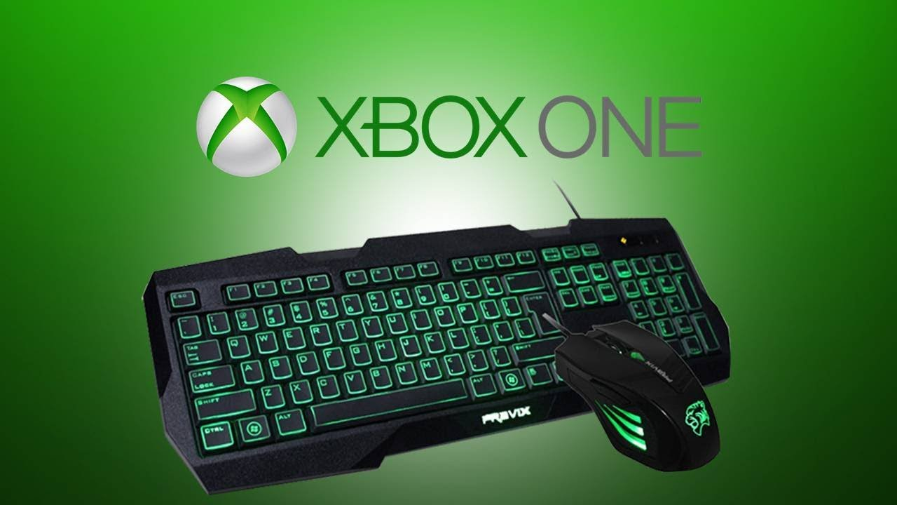 play with mouse and keyboard xbox one