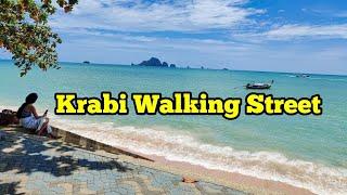 Ao Nang Beach, Krabi Thailand - 2019 (Walking Street)