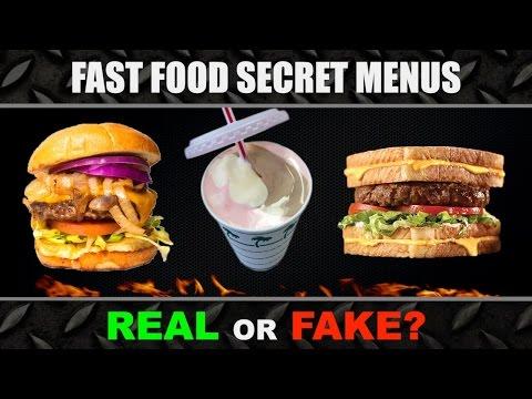 Fast Food SECRET