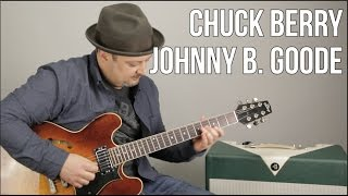chuck berry johnny b goode how to play on guitar guitar lesson tutorial