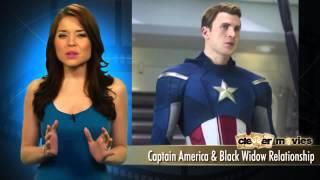 Скарлетт Йоханссон рассказала об отношениях Черной Вдовы и Капитана Америка