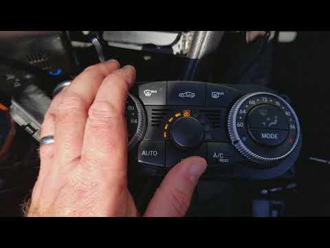 Climate Control EBay R230 Mercedes