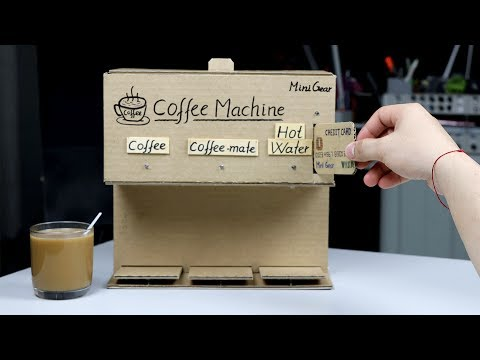How to Make a Coffee Machine with Credit Card