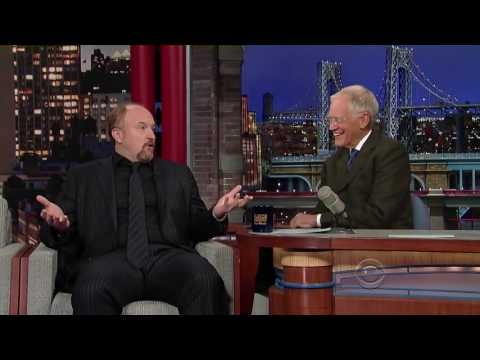 Louis CK  Letterman on Being Parents   Full Interview