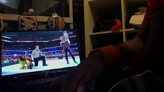 Naomi vs Natalya SmackDown Womans Title WWE SummerSlam 2017 REACTION