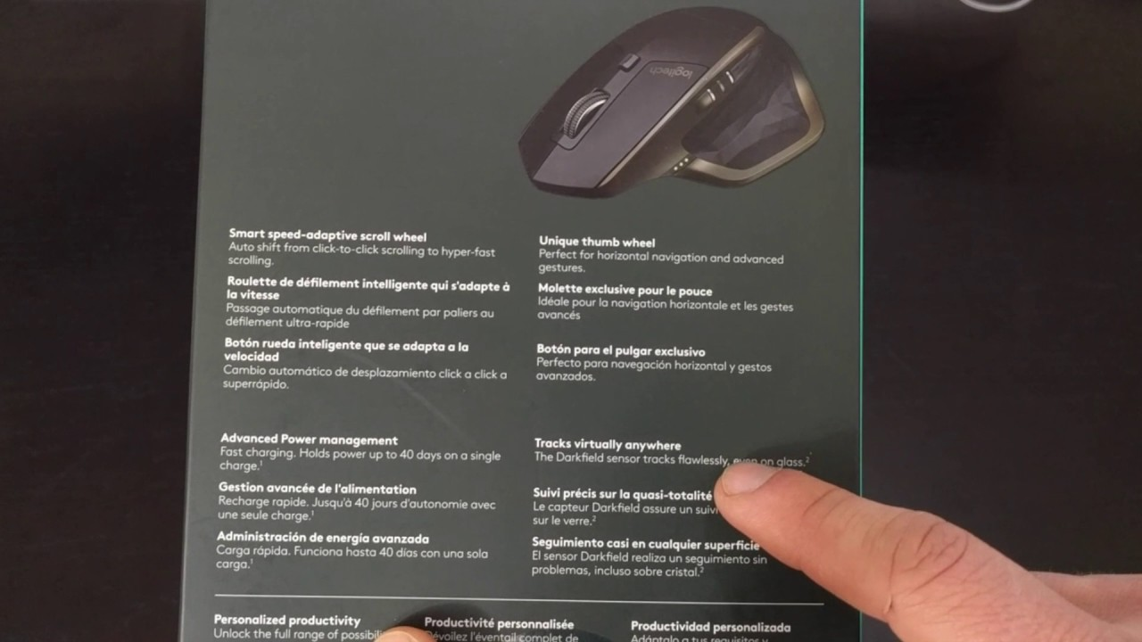 b818c29e34c Logitech MX Master Unboxing - YouTube