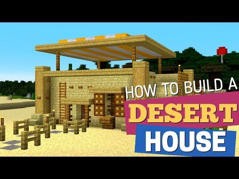 How to Make a Desert house in Minecraft: Desert House Design by Avomance (House Tutorial 2019) thumbnail
