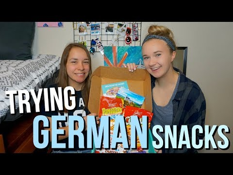 Trying Foreign Snacks from Germany | TryTreats Unboxing