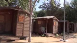 Camping La Rana Verde bungalows y cabañas.flv