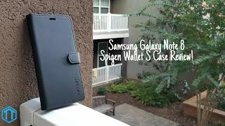 Samsung Galaxy Note 8 Spigen Wallet S Case Review!