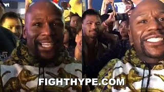 "(WOW!) MAYWEATHER VS. PACQUIAO 2; REMATCH TALKS BEGIN: ""I'M COMING BACK IN DECEMBER"""