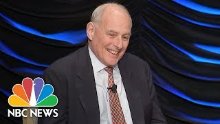 Chief Of Staff John Kelly Jokes White House Job Is Punishment From God | NBC News