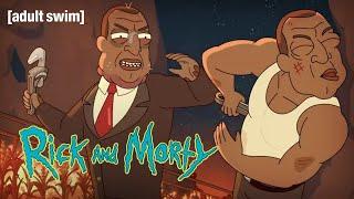 The President vs Turkey President   Rick and Morty   adult swim