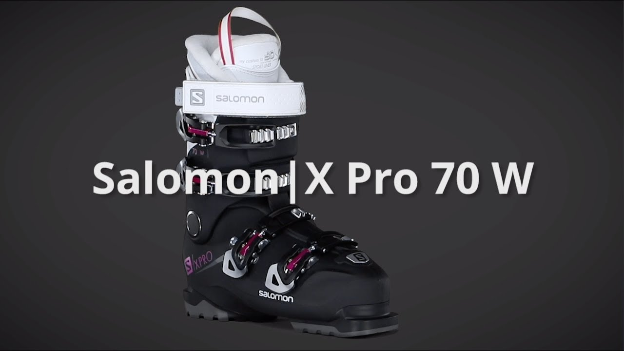 2019 Salomon X Pro 70 W Women's Boot Overview by SkisDotCom