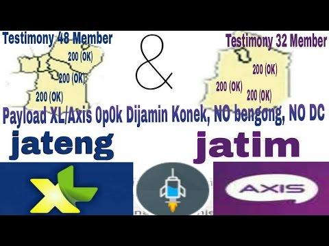 Update!! Payload Premium XL/Axis 0p0k. TKP Jateng-Jatim Dijamin fast konek, NO DC & Bengong,100%Work