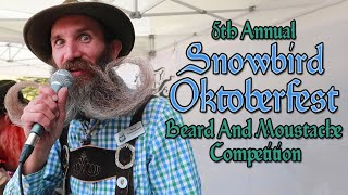 5th Annual Snowbird Oktoberfest Beard And Moustache Competition