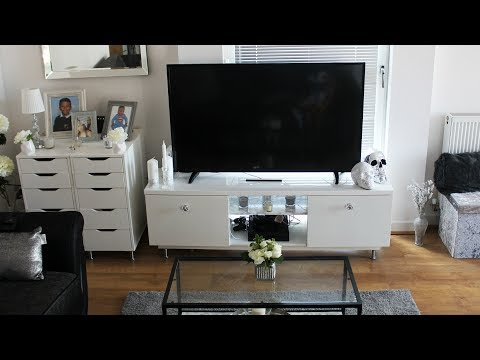 DIY GLAM UPCYCLING IKEA TV STAND LOL
