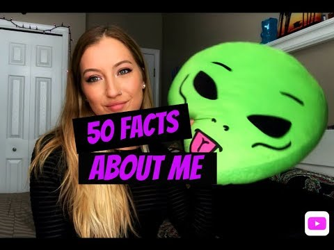 50 FACTS ABOUT ME  Brooke Taylor