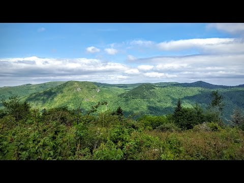 Backpacking Middle Prong Wilderness, Pisgah National Forest, NC