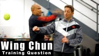 Wing Chun training - wing chun how to attack Q27