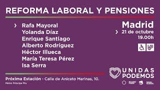 Reforma laboral y pensiones MP3