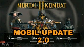 MORTAL KOMBAT 11 - New MK Mobile Update Walkthrough! MK11 Characters & MORE! (MKX Mobile Update)