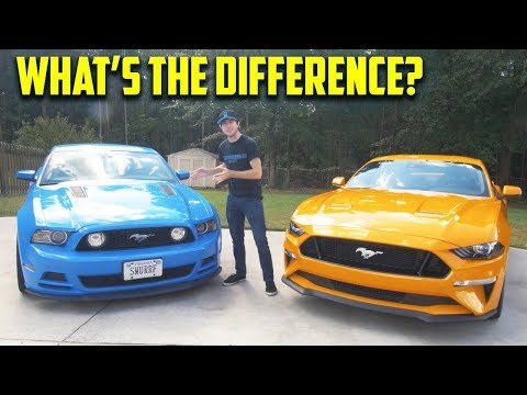 Should You Buy a 2018 Mustang GT Over a 2013 Mustang GT? – Which is Better? (In Depth Comparison)