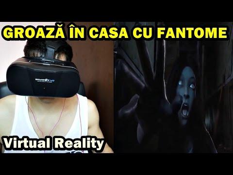 GROAZĂ ÎNTR-O CASĂ PĂRĂSITĂ ! (HORROR ) Virtual Reality React