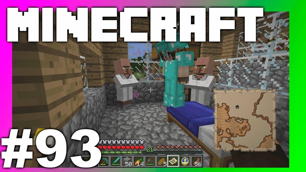 Minecraft Survival 93 Viimeinkin Saatiin Kartta Youtube
