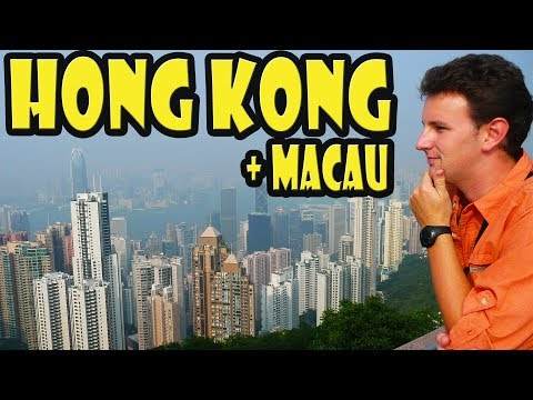Hong Kong & Macau Travel VLOG