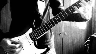 Кино - Невеселая песня (electric guitar cover)