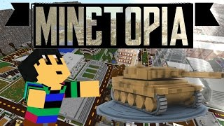EEN TANK TE KOOP?!! - Minetopia - #301 | Minecraft Reallife Server
