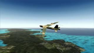 FSX B-52 Nukes North Korea Buff Run 3