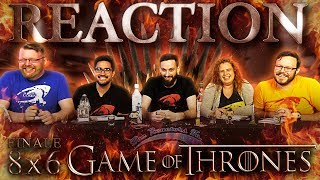 "Game of Thrones 8x6 FINALE REACTION!! ""The Iron Throne"""