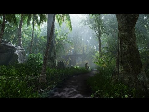 Creating a quick CRYENGINE Scene - 'Lost in the Jungle'