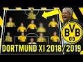 Borussia Dortmund Possible Line Up XI 2018/2019 Ft Morata, Delaney, Reus