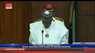 Full Speech Of President Buhari At NASS Pt.1|Live Event|