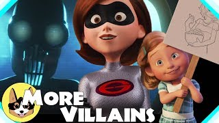 More Secret Villains!  |  Disney Pixar The Incredibles 2 Theory