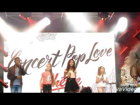 Kids united -  concert pop love : chante winter 2016