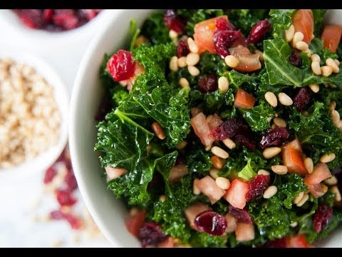 Raw Kale Salad Recipe - Marcel Cocit - Love At First Bite Episode 1