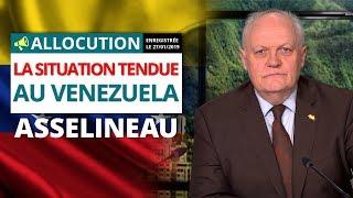 La situation tendue au Venezuela - Allocution de François Asselineau