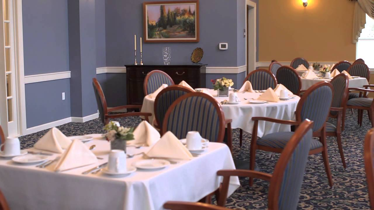 dining room - all american assisted living - youtube