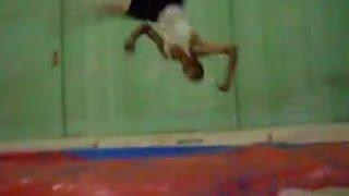 Aerial cartwheels