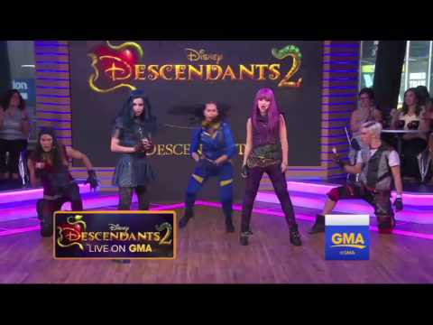 Descendants 2 - Ways To Be Wicked + What's My Name on GMA (Studio Version)