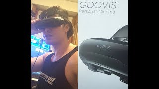 Gooovis Cinego G2 Virtual Gigantic Cinema 800 inch 4k 3d review by Lord Conrad