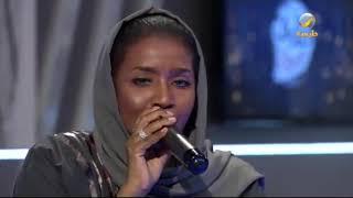 الفنانة سعيدة البقمي تغني (قلبي عليك) لايف في طارق شو