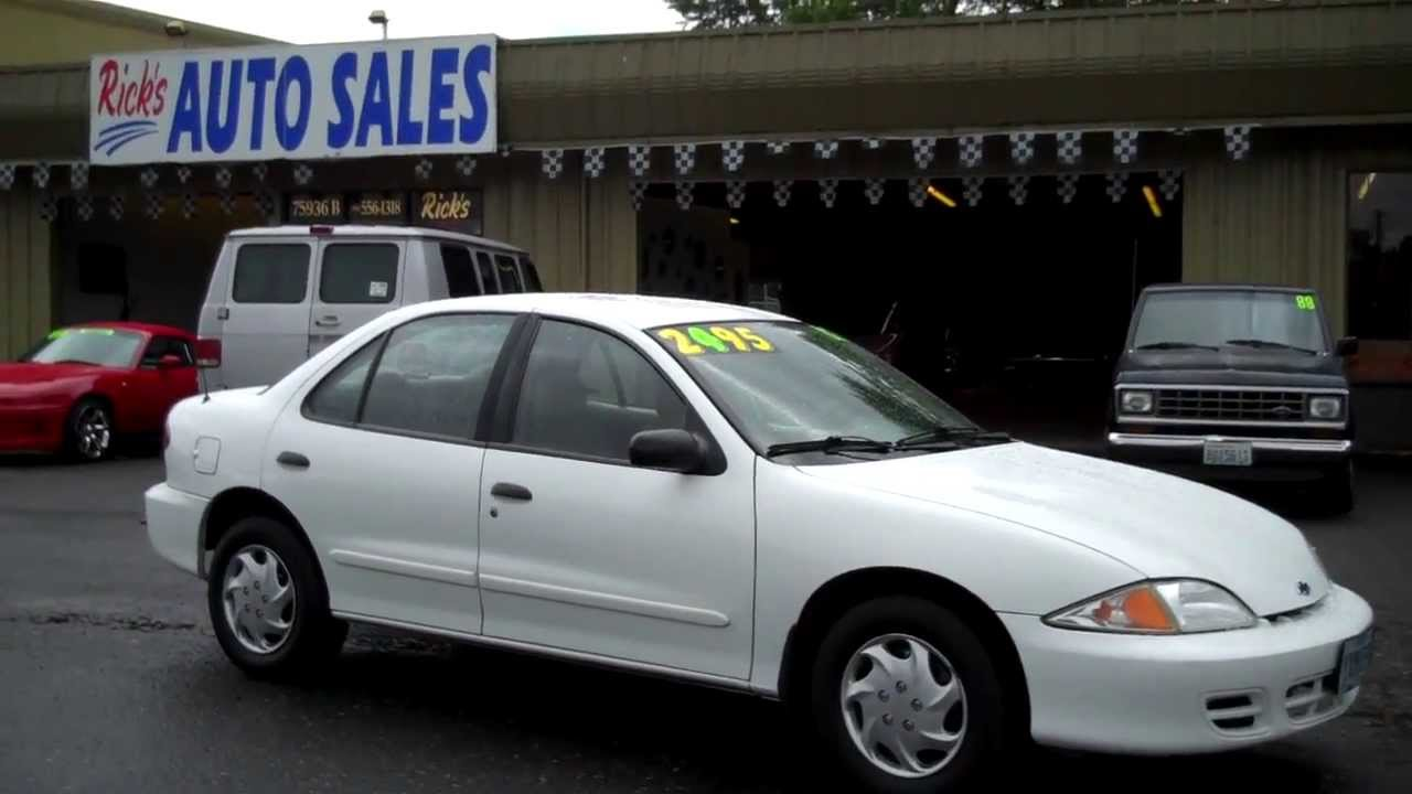 2002 Chevy Cavalier Sold