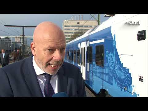 Nieuwe Blauwnettrein rijdt vanaf morgen op Kamperlijntje en traject Zwolle-Enschede