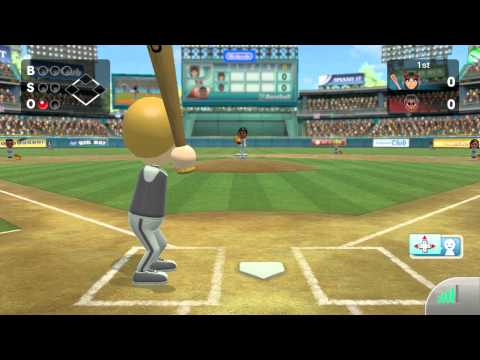 Wii Sports Club - Online Baseball Friend Game