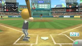 Wii Sports Club - Online Baseball Friend Game